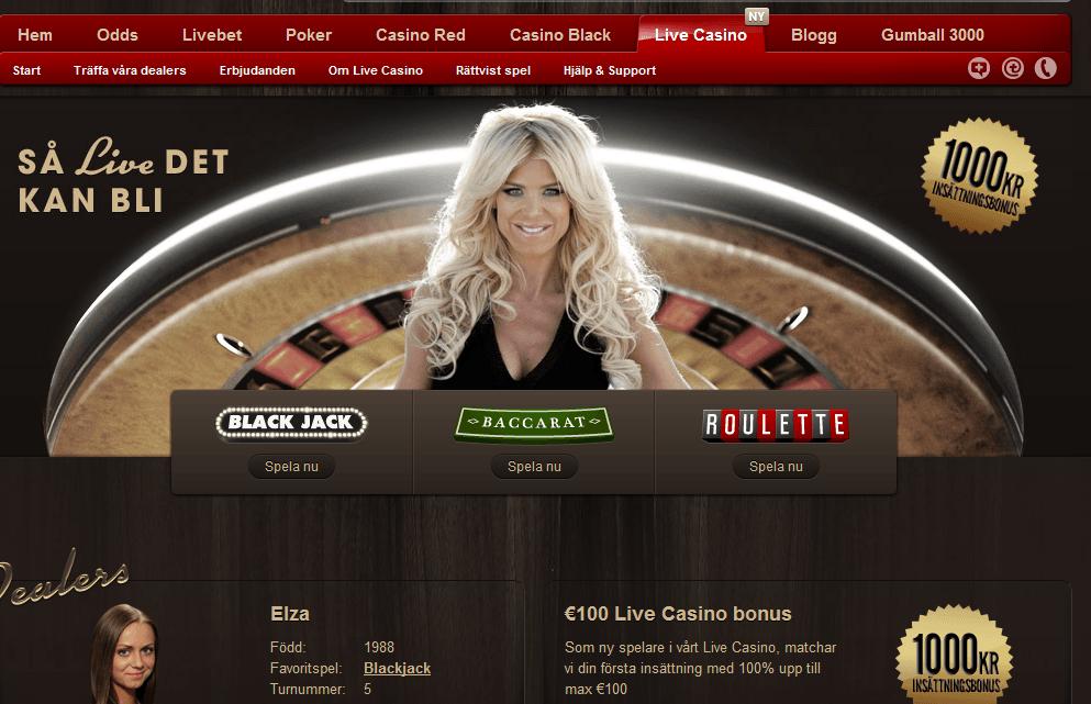 betsafe live casino
