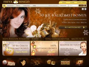 Freya Bingo