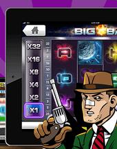 Comeon's mobilcasino erbjuder både spel på surfplattor och smartphones.