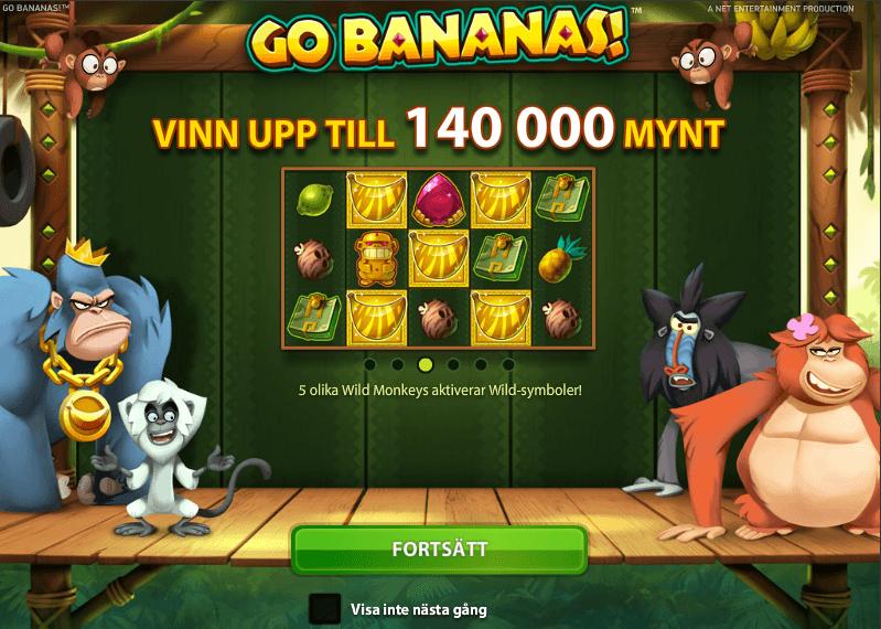 Go Bananas Spelautomat
