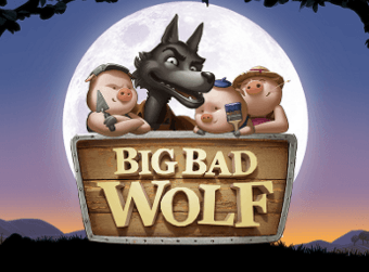 Big Bad Wolf slots stor logga