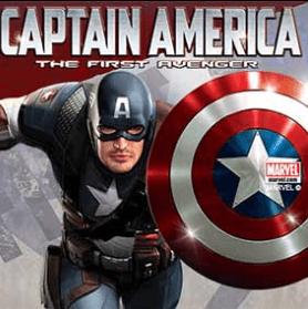Captain America spelautomaten