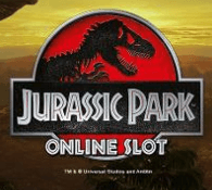 Jurassic Park logo spelautomat