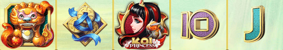 Koi Princess vinstrad