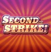 Second strike stora logga