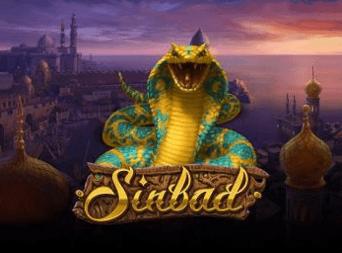 Sinbad slots logga stor
