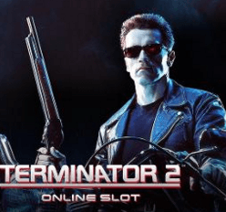 Terminator 2 med Arnold automat