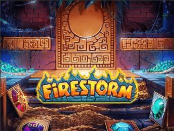 firestorm spelautomat stor logga