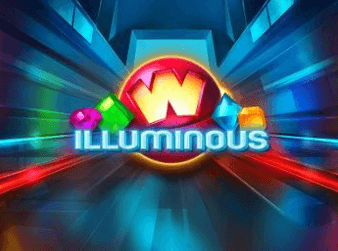 illuminous logo spelautomaten