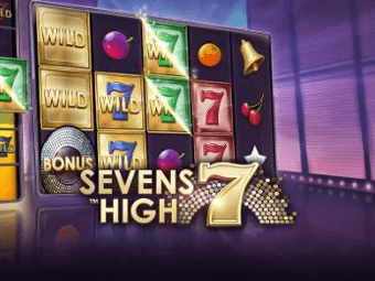 sevens high automaten stor logga