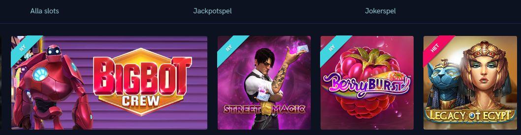 spel hos vegas casino
