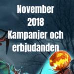 November free spins