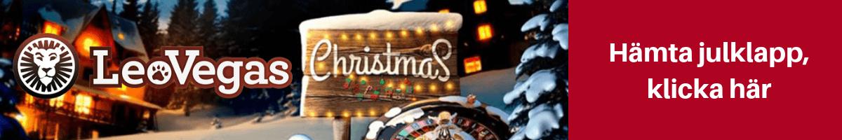 Casino julkalender Leo Vegas