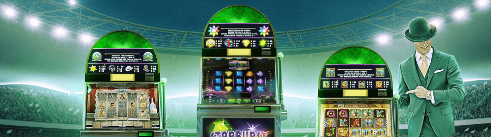 slots hos mr green