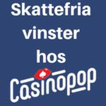 casinopop svensk licens