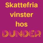 dunder svensk licens