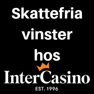 intercasino skattefritt