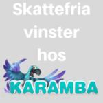 ingen skatt på vinster hos karamba