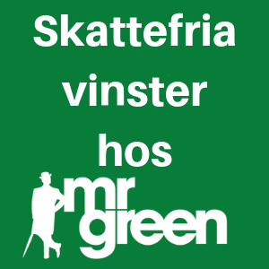 svensk spellicens hos Mr Green