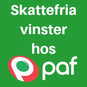 svensk licens hos paf
