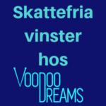 svensk licens hos voodoo dreams