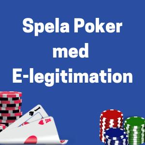 poker med e-leg logo