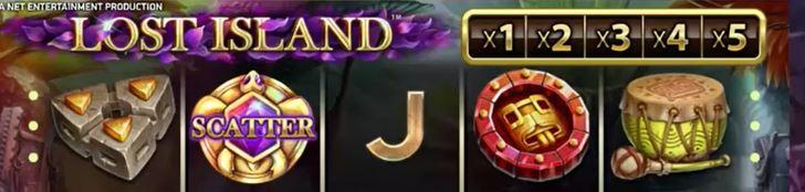 lost island SE symboler
